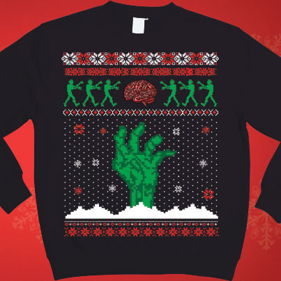 Geeky Ugly Christmas Sweaters